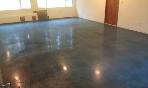 Polished concrete floors concrete diamond polish for How to shine cement floor