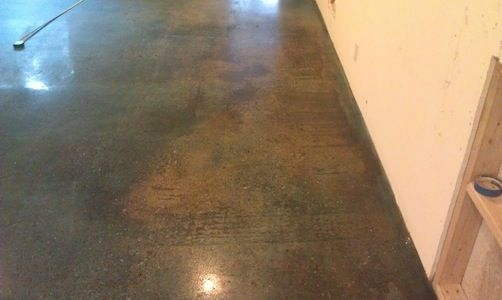 Polished concrete floors concrete diamond polish for Stained polished concrete floor